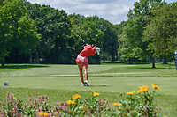 Paula Creamer (USA) watches her tee shot on 11 during round 1 of the 2018 KPMG Women's PGA Championship, Kemper Lakes Golf Club, at Kildeer, Illinois, USA. 6/28/2018.<br /> Picture: Golffile | Ken Murray<br /> <br /> All photo usage must carry mandatory copyright credit (&copy; Golffile | Ken Murray)