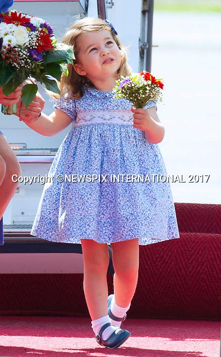 Princess Charlotte's 1st Official Bouquet