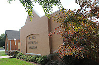 NWA Democrat-Gazette/FLIP PUTTHOFF <br /> The Rogers Historical Museum is the recipient of a gift Tuesday Sept. 22 2015 from the Walton Family Foundation.
