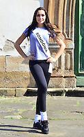 OURO PRETO, MG, 20.09.2013 - MISS BRASIL 2013 - Miss Rondônia, Jeane Aguiar candidata a Miss Brasil 2013 durante visita a cidade historica de Ouro Preto a 100 km de Belo Horizonte. (Foto: Eduardo Tropia / Brazil Photo Press)