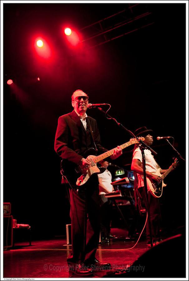 Mick Jones &amp; Leo 'E-Zee Kill' Williams -<br /> <br /> Big Audio Dynamite perform at the Shepherds Bush Empire on the 2nd April 2011