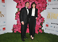 Allen Leech and Michelle Dockery at the Remembering Audrey Hepburn charity gala celebating the life of the late actress, Royal Lancaster Hotel, Lancaster Terrace, London, England, UK, on Saturday 06 October 2018.<br /> CAP/CAN<br /> &copy;CAN/Capital Pictures