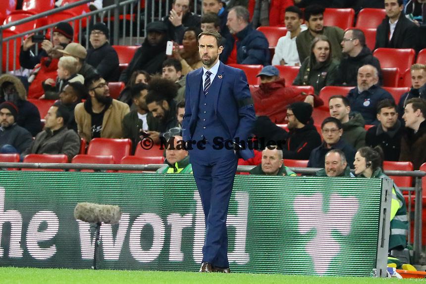 Trainer Gareth Southgate (England) - 10.11.2017: England vs. Deutschland, Freundschaftsspiel, Wembley Stadium
