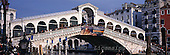 Tom Mackie, LANDSCAPES, panoramic, photos, Rialto Bridge, Venice, Italy, GBTM990296-3,#L#