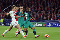 Lucas of Tottenham Hotspur scores the first goal during AFC Ajax vs Tottenham Hotspur, UEFA Champions League Football at the Johan Cruyff Arena on 8th May 2019