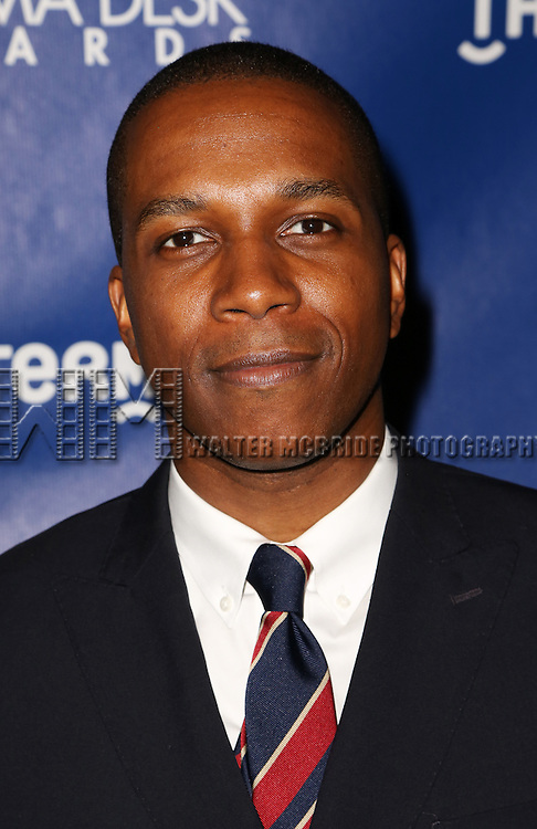 Leslie Odom JR attends the 2015 Drama Desk Awards at Town Hall on May 31, 2015 in New York City.