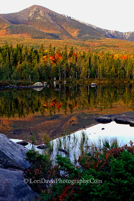 Autumn view Mt. Katahdin  #L10