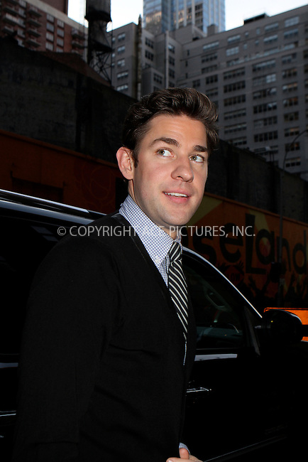 WWW.ACEPIXS.COM....December 3 2012, New York City....John Krasinski made an appearance on the Late Show with David Letterman on December 3, 2012 in New York City ....By Line: Nancy Rivera/ACE Pictures......ACE Pictures, Inc...tel: 646 769 0430..Email: info@acepixs.com..www.acepixs.com