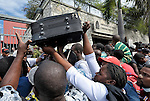 After a Port-au-Prince radio station on January 19 mistakenly announced the the Canadian embassy was giving away visas, hundreds of survivors of the January 12 earthquake flocked to the embassy where they were confronted by Canadian soldiers.
