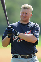 17 March 2009: Eric Campbell of the Atlanta Braves at Spring Training camp at Disney's Wide World of Sports in Lake Buena Vista, Fla. Photo by:  Tom Priddy/Four Seam Images