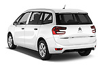 Car pictures of rear three quarter view of 2016 Citroen Grand-C4-Picasso Shine 5 Door Mini MPV Angular Rear