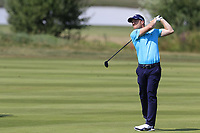 David Horsey (ENG) plays his 3rd shot on the 16th hole during Saturday's Round 3 of the Porsche European Open 2018 held at Green Eagle Golf Courses, Hamburg Germany. 28th July 2018.<br /> Picture: Eoin Clarke | Golffile<br /> <br /> <br /> All photos usage must carry mandatory copyright credit (&copy; Golffile | Eoin Clarke)