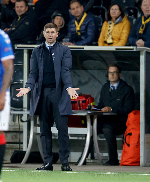 03.10.2019 Young Boys of Bern v Rangers: Steven Gerrard