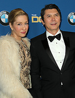 03 February 2018 - Los Angeles, California - Yvonne Boismier Phillips and Lou Diamond Phillips. 70th Annual DGA Awards Arrivals held at the Beverly Hilton Hotel in Beverly Hills. <br /> CAP/ADM<br /> &copy;ADM/Capital Pictures