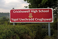 Pictured: Crickhowell High School in Wales, UK.<br /> Re: Dyfed Powys Police dealt with a possible weapon incident, in which, pupils and staff remained indoors at Crickhowell High School in Powys County, Wales, UK.