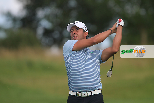 Pablo Larrazabal (ESP) on the 6th on Day 2 of the Alstom Open de France at Golf National,  Saint-Quentin-En-Yvelines, Paris, France, 6/7/12...(Photo Jenny Matthews/www.golffile.ie)