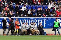Harrison, NJ - Sunday March 04, 2018: Medical during a 2018 SheBelieves Cup match match between the women's national teams of the United States (USA) and France (FRA) at Red Bull Arena.