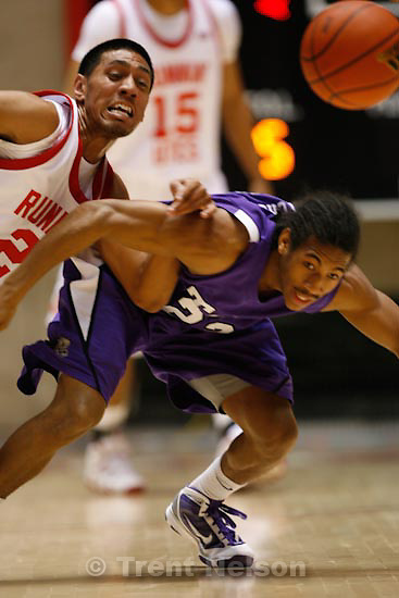 Trent Nelson  |  The Salt Lake Tribune.University of Utah vs. TCU mens college basketball, Saturday, January 9, 2010.