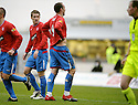 05/12/2009  Copyright  Pic : James Stewart.sct_jspa05_falkirk_v_rangers  . :: KRIS BOYD REACTS TO FALKIRK CHANTS AS HE CELEBRATES SCORING THE FIRST FOR RANGERS :: .James Stewart Photography 19 Carronlea Drive, Falkirk. FK2 8DN      Vat Reg No. 607 6932 25.Telephone      : +44 (0)1324 570291 .Mobile              : +44 (0)7721 416997.E-mail  :  jim@jspa.co.uk.If you require further information then contact Jim Stewart on any of the numbers above.........