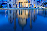Europe, Austria, Vienna, Karskirche (St. Charles Church) at Dawn