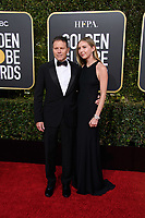 Bill Gerber and Emma Gerber attend the 76th Annual Golden Globe Awards at the Beverly Hilton in Beverly Hills, CA on Sunday, January 6, 2019.<br /> *Editorial Use Only*<br /> CAP/PLF/HFPA<br /> Image supplied by Capital Pictures