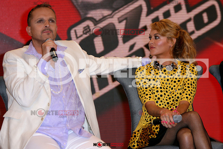 M&eacute;xico, D.F.- 22ago2012 - Foro 5.Presentaci&oacute;n de la segunda edici&oacute;n de ?La voz... M&eacute;xico?, que arrancar&aacute; al aire el 9 de septiembre..Photo: &copy;Luciano Garc&iacute;a/DAMMPHOTO.COM. /NortePhoto.com<br /> <br /> **SOLO*VENTA*EN*MEXICO**<br /> **CREDITO*OBLIGATORIO** *No*Venta*A*Terceros*<br /> *No*Sale*So*third* ***No*Se*Permite*Hacer Archivo***No*Sale*So*third*