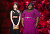 Anna Kendrick and Gabourey Sidibe <br /> 86TH OSCARS<br /> The Annual Academy Awards at the Dolby Theatre, Hollywood, Los Angeles<br /> Mandatory Photo Credit: &copy;Dias/Newspix International<br /> <br /> **ALL FEES PAYABLE TO: &quot;NEWSPIX INTERNATIONAL&quot;**<br /> <br /> PHOTO CREDIT MANDATORY!!: NEWSPIX INTERNATIONAL(Failure to credit will incur a surcharge of 100% of reproduction fees)<br /> <br /> IMMEDIATE CONFIRMATION OF USAGE REQUIRED:<br /> Newspix International, 31 Chinnery Hill, Bishop's Stortford, ENGLAND CM23 3PS<br /> Tel:+441279 324672  ; Fax: +441279656877<br /> Mobile:  0777568 1153<br /> e-mail: info@newspixinternational.co.uk