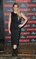 Anna Williamson at the &quot;Chicago&quot; press night, Phoenix Theatre, Charing Cross Road, London, England, UK, on Wednesday 11 April 2018.<br /> CAP/CAN<br /> &copy;CAN/Capital Pictures