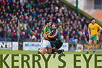 Bryan Sheehan Kerry in action against  Donegal in Division One of the National Football League at Austin Stack Park Tralee on Sunday.