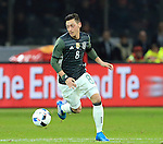 Germany's Mesut Ozil in action during the International Friendly match at Olympiastadion.  Photo credit should read: David Klein/Sportimage