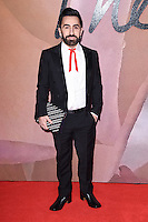 Johnny Coca<br /> at the Fashion Awards 2016, Royal Albert Hall, London.<br /> <br /> <br /> &copy;Ash Knotek  D3210  05/12/2016