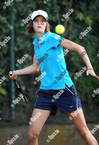 2011-09-01 / Tennis / seizoen 2011 / Feest van de jeugd / Greetje Minnen..Foto: mpics