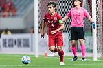 Shanghai FC Defender Wang Shenchao in action during the AFC Champions League 2017 Round of 16 match between Shanghai SIPG FC (CHN) vs Jiangsu FC (CHN) at the Shanghai Stadium on 24 May 2017 in Shanghai, China. Photo by Marcio Rodrigo Machado / Power Sport Images