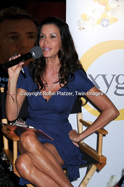"""Janice Dickinson in Gucci dress..at an event at The NBC Experience Store in New York City..for """"The Janice Dickinson Modeling Agency"""" which picked a model who won $1000.00, a photo shoot in New York City and a chance to be on her show on August 25, 2008. The new season premieres on Oxygen on August 26, 2008....Robin Platzer, Twin Images"""