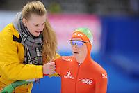 SCHAATSEN: BERLIJN: Sportforum, 06-12-2013, Essent ISU World Cup, 500m Ladies Division A, Thijsje Oenema (NED), ©foto Martin de Jong