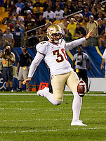 Florida State punter Cason Beatty. Florida State defeated Pitt 41-13 at Heinz Field on September 2, 2013.