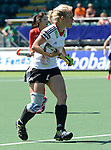The Hague, Netherlands, June 13: Lydia Haase #12 of Germany looks on during the field hockey placement match (Women - Place 7th/8th) between Korea and Germany on June 13, 2014 during the World Cup 2014 at Kyocera Stadium in The Hague, Netherlands. Final score 4-2 (2-0)  (Photo by Dirk Markgraf / www.265-images.com) *** Local caption ***