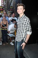 NEW YORK, NY - July 17, 2012: Chris Colfer at Good Morning America studios in New York City. &copy; RW/MediaPunch Inc. *NORTEPHOTO*<br /> **SOLO*VENTA*EN*MEXICO**<br /> **CREDITO*OBLIGATORIO** <br /> **No*Venta*A*Terceros**<br /> **No*Sale*So*third**<br /> *** No*Se*Permite Hacer Archivo**<br /> **No*Sale*So*third**