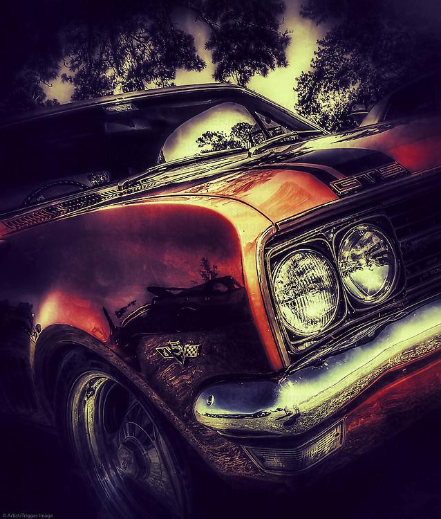 Classic American 1970's car