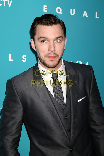 HOLLYWOOD, CA - JULY 7: Nicholas Hoult at the &quot;Equals&quot; Premiere at the ArcLight Theater in Hollywood, California on July 7, 2016. <br /> CAP/MPI/DE<br /> &copy;DE/MPI/Capital Pictures