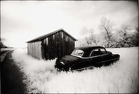 Old Car and Barn<br />