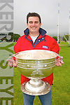 The Sam Maguire Cup at Annascaul .