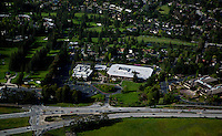 aerial photograph Sand Hill Road, Menlo Park, California