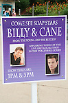 POSTER - Joyce Becker's Soap Opera Festivals present Young and Restless' Daniel Goddard and Billy Miller at Six Flags Hurricane Harbor on July 26, 2009 in Jackson, New Jersey. (Photo by Sue Coflin/Max Photos)
