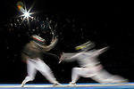 Semi finals, Women's Sabre, Olympic Games, Athens, Greece, August 17, 2004