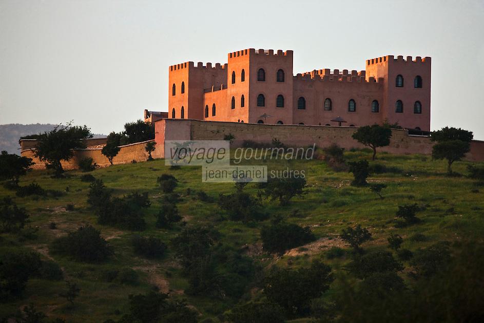 Afrique/Afrique du Nord/Maroc/Province d'Agadir/Tighanimine Elbaz: Ecolodge Atlas Kasbah