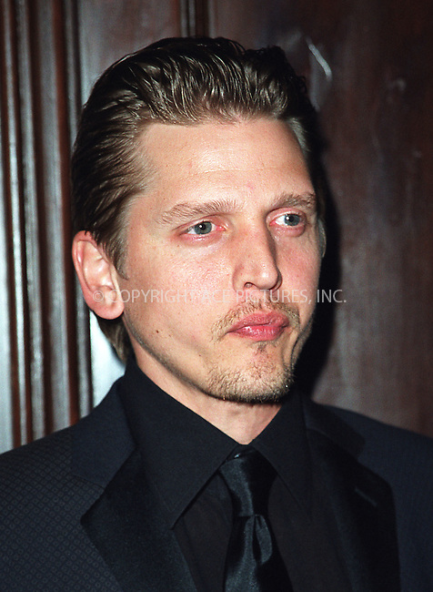 Barry Pepper arrives at Waldorf-Astoria for the 3rd Annual Directors Guild of America Awards. New York, June 9, 2002. Please byline: Alecsey Boldeskul/NY Photo Press.   ..*PAY-PER-USE*      ....NY Photo Press:  ..phone (646) 267-6913;   ..e-mail: info@nyphotopress.com