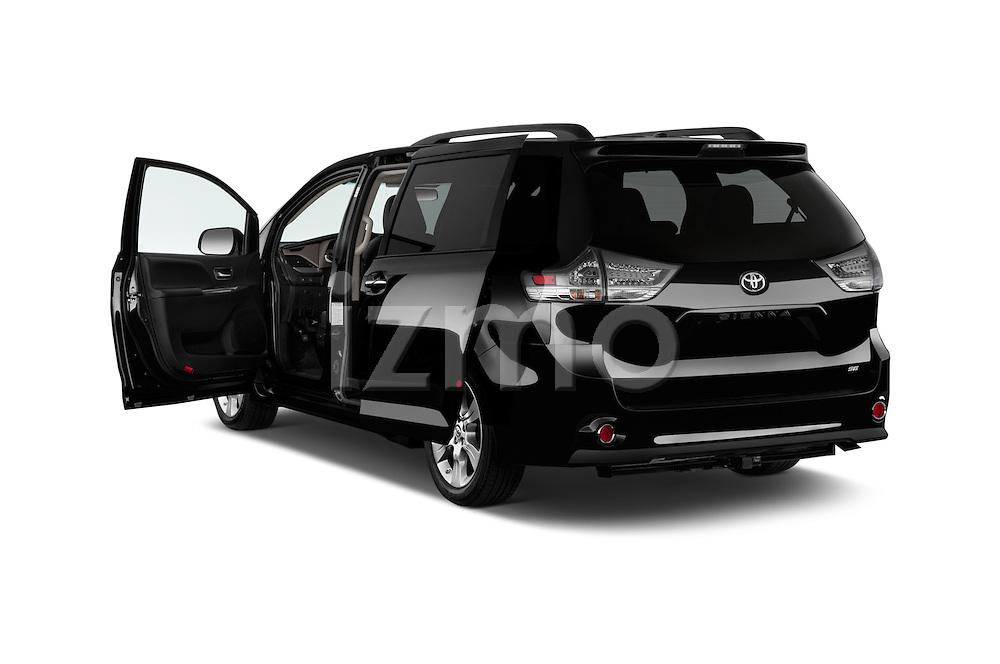 Car images of 2017 Toyota Sienna SE 5 Door Minivan Doors