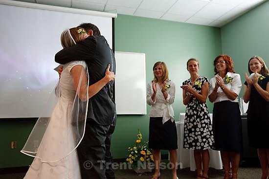 Maddie Quayle, Dave Scott wedding.Monday August 3, 2009 in South Jordan. laura nelson, pat wickman, edie zambrano