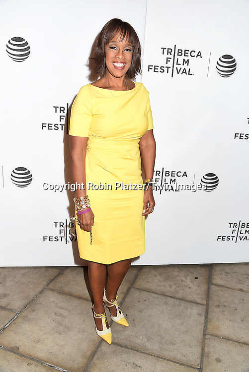 Gayle King attends the &quot;Greenleaf&quot; world premiere at The Tribeca Film Festival on April 20, 2016 at the John Zuccotti Theater @ BMCC Tribeca Performing Arts Center in New York, New York, USA. The new original drama Series is from the OWN Network.<br /> <br /> photo by Robin Platzer/Twin Images<br />  <br /> phone number 212-935-0770